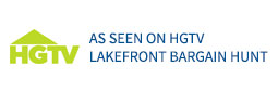 As seen on HGTV Lakefront Bargain Hunt